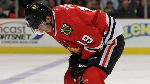 Jonathan Toews leads the Blackhawks with 27 goals this season.