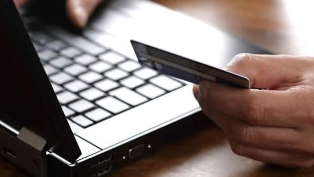 Always be cautious when entering your credit card information online.