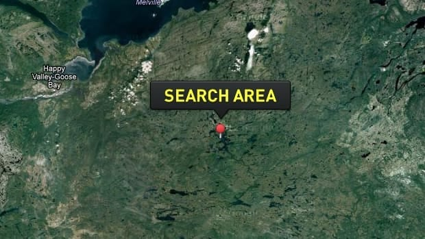 A search was launched in a remote part of the Labrador wilderness on Wednesday night after a canoe capsized.