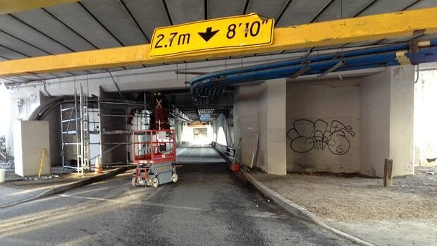 The lower deck of the Centre Street bridge has been reopened after Enmax completed repairs to damaged utility lines.