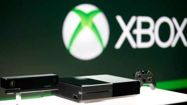 The Xbox One, shown above, will not be able to play games bought for its predecessor, the Xbox 360 system.