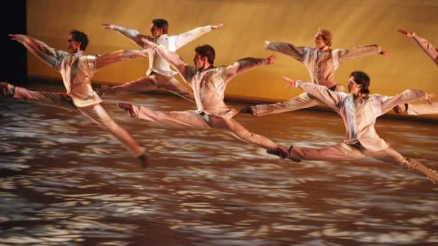 Artists of the National Ballet of Canada in The Four Seasons, the work the company will dance in Saratoga Springs.