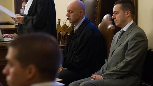 Pope Benedict's former butler Paolo Gabriele, right, was convicted of stealing the pontiff's personal papers.