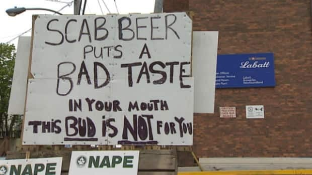 About 50 workers with the Labatt Brewery in St. John's have been on a legal strike since April 10.