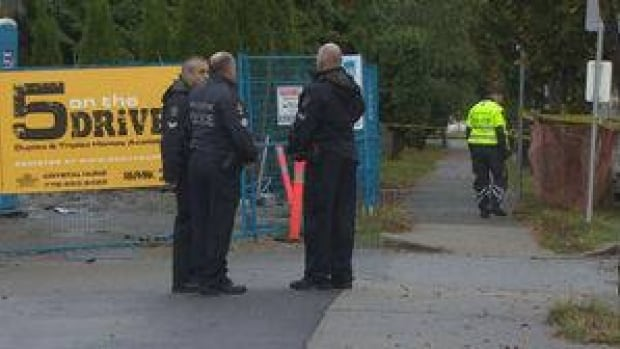 Police confirm two men were shot early Sunday morning but have released few other details.