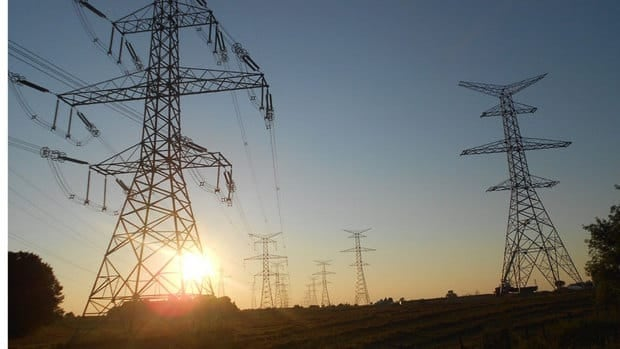Transmission lines run from the Bruce nuclear power plant on Lake Huron to Milton, Ont.  Bruce Power says it can complete final safety checks on a unit at the plant that has been out of service since 1995.
