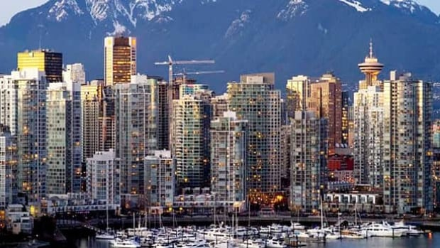 A report released Tuesday says Vancouver's non-occupancy rate was 4.9 per cent in 2002 compared with 4.8 per cent in 2014, which is line with other big Canadian cities.