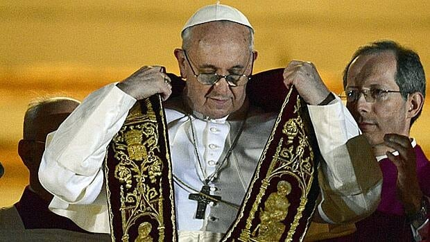 Argentine Cardinal Jorge Mario Bergoglio, the man who will be Pope Francis I.