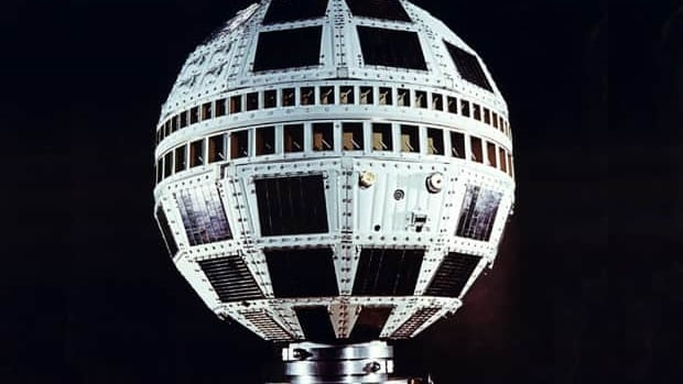 The Telstar I satellite launched on July 10, 1962, was the first active communications satellite to orbit Earth.