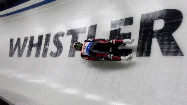 The track at the Whistler Sliding Centre held competitions in luge, skeleton and bobsleigh for the 2010 Vancouver Olympics.