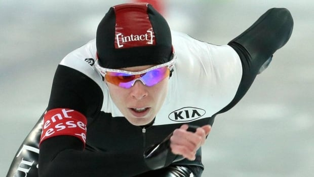Canada's Christine Nesbitt finished in fourth place in the 1000m race at the World Single Distance Championships in Sochi, Russia on Saturday.