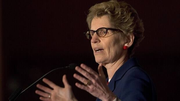 Ontario Premier Kathleen Wynne says she looks forward to seeing the auditor general's special report on the cancellation of the Mississauga power plant, which is being released Monday afternoon.