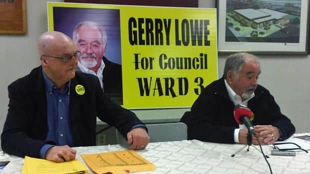 Gerry Lowe announced he will run in the May 13 byelection in Saint John's Ward 3. Residents will be vote to fill Donnie Snook's vacant seat on Saint John council.