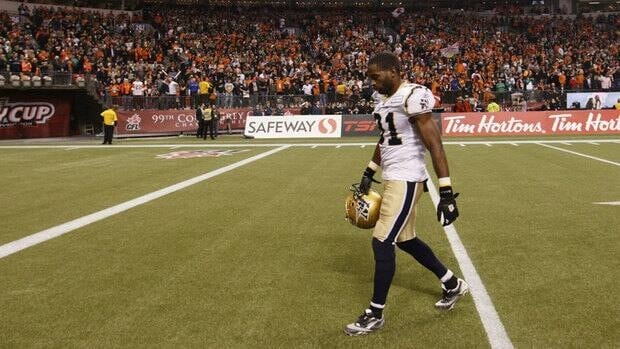 Cory Watson was injured during a practise recently, leaving the Winnipeg Blue Bombers looking for a replacement.