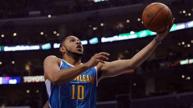 Eric Gordon, seen with the New Orleans Hornets in April, has reportedly agreed to a deal with the Phoenix Suns.