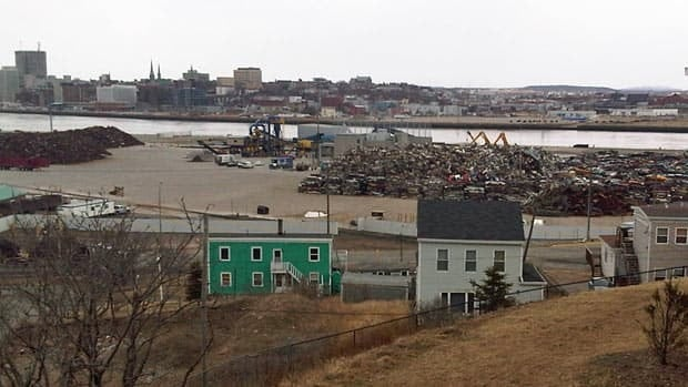 Some Saint John residents are concerned about noise levels at an expanded scrap metal facility that will go into production on Monday. (Connell Smith/CBC)