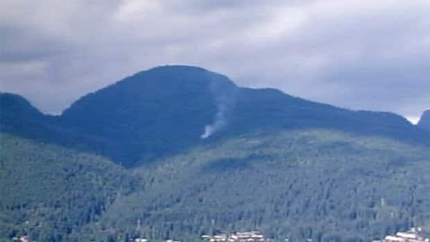 The fire at its height could be seen from downtown Vancouver.