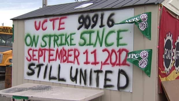 Public Service Alliance of Canada workers have been on strike at the airport since Sept. 11, 2012.