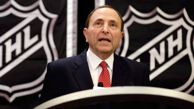 NHL commissioner Gary Bettman apologized last week in person after the owners ratified the new collective bargaining agreement.