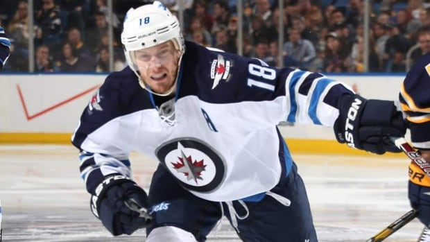 Bryan Little scored seven goals and 25 assists in 48 games for the Winnipeg Jets last season.