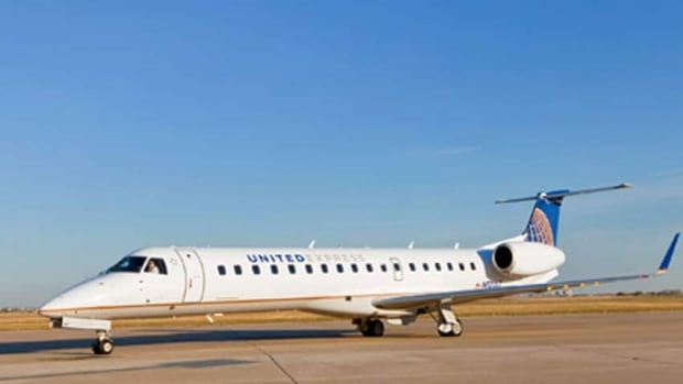 United Airlines started its service to Chicago last February, using Bombardier CRJ regional jets. Its last flight will be April 24.