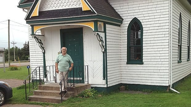 The community hall in Bonshaw was built at that location more than 150 years ago, but now has to move for the Trans-Canada Highway.