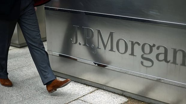 "J.P. Morgan is one of 11 big U.S. banks told that plans for their own bankruptcy are ""inadequate"" and must be rewritten. (Associated Press)"