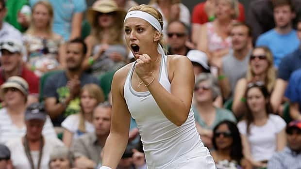 Sabine Lisicki overcome mid-match struggles to earn the biggest win of her career.