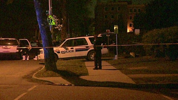 Edmonton police investigate a suspicious death in the area of 111th Street and 99th Avenue Thursday night.