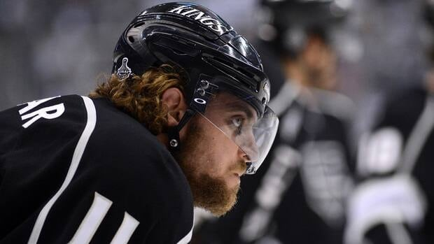 Anze Kopitar tied for the playoff lead with 20 points last spring as the Kings won their first Stanley Cup.