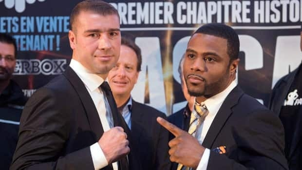 Lucian Bute, left, and Jean Pascal are both former world champions looking to earn more big paydays with a win at Bell Centre on Dec. 7.