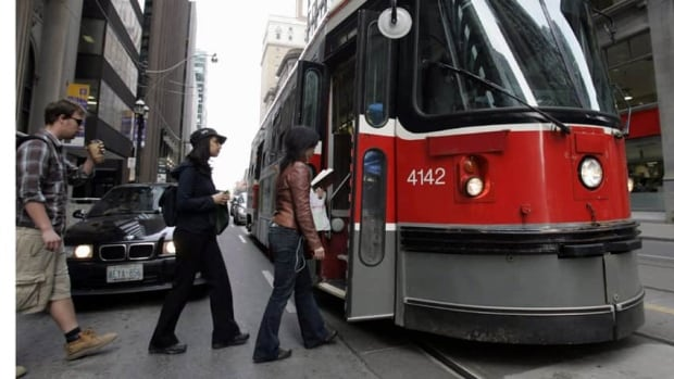 Toronto Mayor Rob Ford has denied accusations that he drove past open doors of a TTC streetcar at a stop last week. Ford said he passed the rear doors, which were closed, and settled behind the open front doors.
