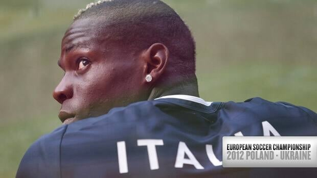 Striker Mario Balotelli has been the centre of discussion at Italy's camp ever since the squad arrived in Poland.