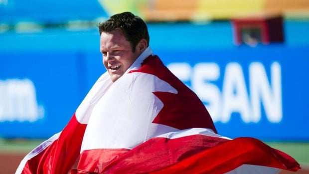 Canada's Dylan Armstrong broke the Pan American Games shot put record in Mexico in 2011.