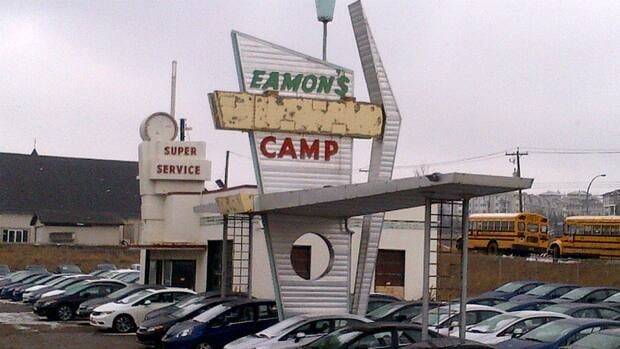 No private investors have come forward with bids to reuse the Eamon's building, a 1950s-era gas station that is still in storage.