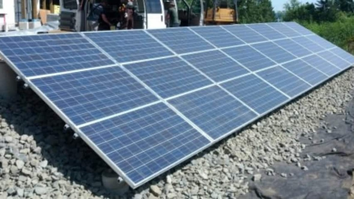 Solar panels to be installed on roof of surrey school for Solar installers canada