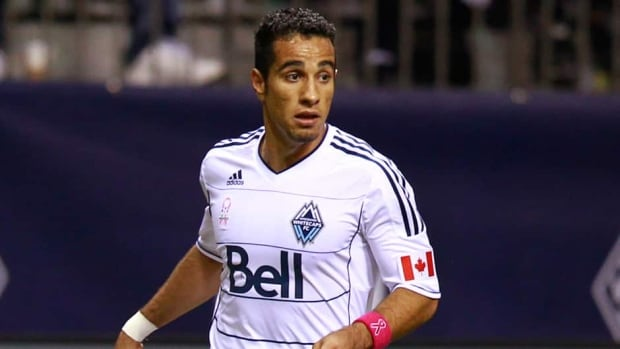 Vancouver Whitecaps striker Camilo Sanvezzo scored four goals in five matches last month.