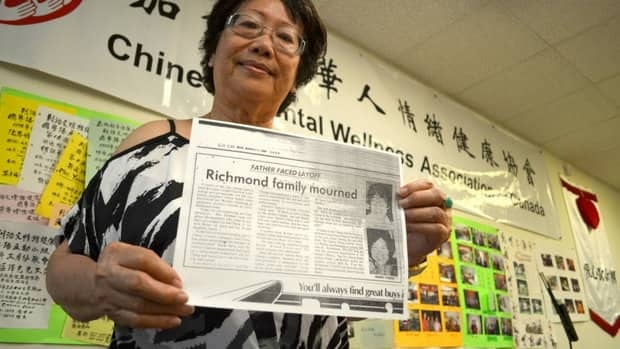 Ahlay Chin founded the Chinese Mental Wellness Association of Canada after the suicide of a colleague.