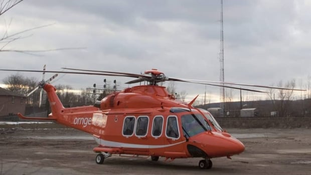 Four people were taken to hospital after a sewer tunnel collapse in Pickering. One person was moved by Ornge air ambulance to a second hospital.