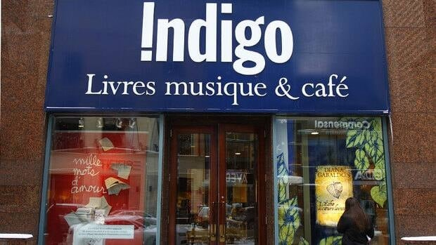Indigo said it will open new stores outside Canada in about two years but did not specify where.