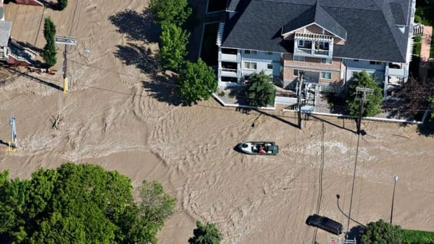 Some 1,300 troops were deployed to help with rescues and the mandatory evacuations that forced 75,000 people from their homes in Calgary.