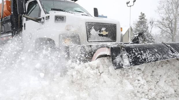 Expect to see many snow plows out in full force on Wednesday.