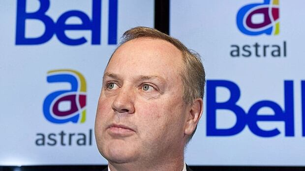 BCE president and CEO George Cope announces BCE's takeover of Astral in a deal worth about $3.38 billion last March.