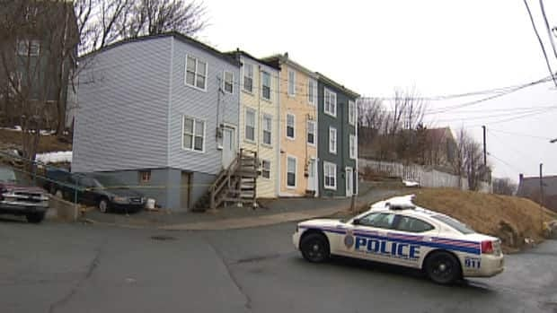 This crime scene at 8 Tessier Place in St. John's has prompted residents to meet with police and city officials.