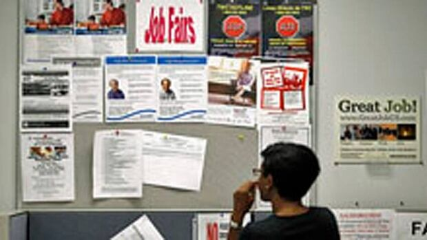 The Canadian unemployment rate is 6.9 per cent.