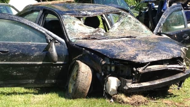 Early indications are the body found in this car was that of Joey Francis Laybolt, who was last seen in early June.