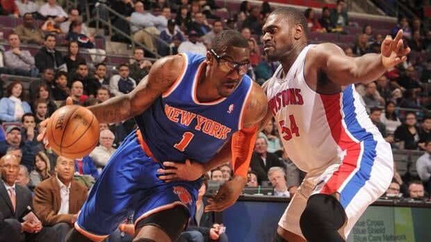 Amar'e Stoudemire, who had been playing well off the bench, will have a procedure to remove tissue form his right knee this week.