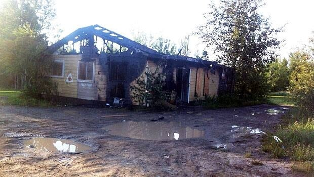The RCMP office in St. Theresa Point was a total loss, according to officials.