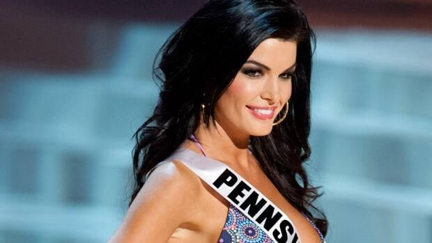 Miss Pennsylvania Sheena Monnin competes during the 2012 Miss USA pageant. She later claimed the contest was fixed.