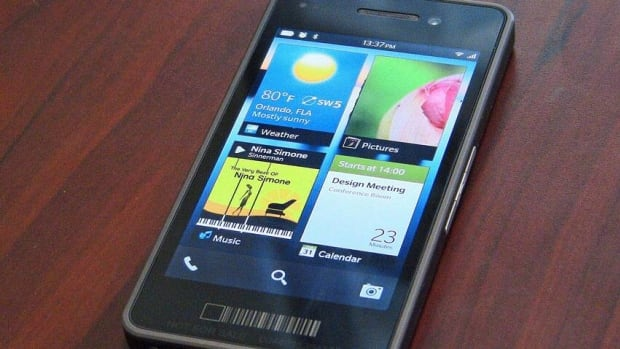 RIM aims to have its new BB10, shown in prototype, on store shelves in the first quarter of 2013.